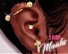 M! Pierced Up - Gold - R