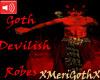 Trig-Goth Devilish robe