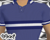 602 Blue Textured Polo
