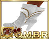 QMBR Boots Layered White