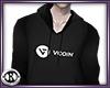 VCOIN Black Hoodie M