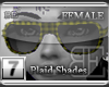 [BE]YellowPlaid ShadesF