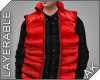 ~AK~ Ski Vest: Red