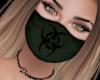 Mask BioHaz Green