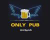 Only Pub  Logo 3d