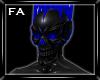 (FA)SkullMask Blue