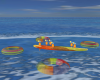 Tropic Fun Tubes Flotado
