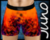 Orange Swimshort