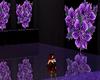purple flower room