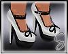 [Sev] Bow Heels White