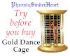 Gold Dance Cage