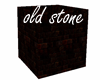 old stone cube