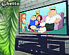 Family Guy Tv+Stand