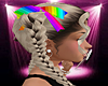 -S- Rainbow Hair Ribbons