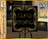 I~Grand Opening sign