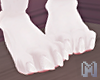 CHIOU White Foot Claws M