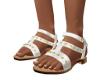 NN-White Sandals