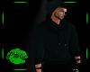 Cowl Hoodie - Dark Green
