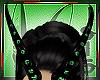 Emerald Demon Horns