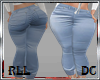 DC*RLL BABY BLUE JEANS