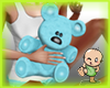 *Bb*Mom's Bear blue