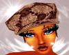 foxy gucci hat w/hair