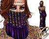 Sadiyaah Veil Purple