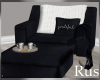 Rus Navy Chair and Stool