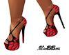 Mb Red Black Corset Shoe