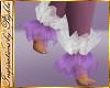 I~Lilac Fur Ankles