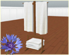 Towel Rack Snow Cabin