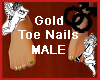 Gold Toe Nails MALE