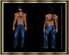 *BDT*Western Jeans Blue