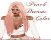 Peach Dreams Hair Color