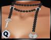 Pearls Grey Lock & Key