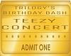 teezy concert