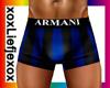 [L] BOXERS Armani Blue
