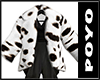 Fuwafuwa Fur Coat-Cow