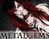 CEM Red Black Rock Hair