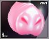 Rubber   Pink piggy nose