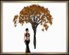 Fall Cemetery Tree