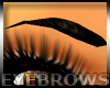 Shaped Eyebrows Black