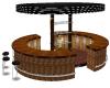 Teak Wood Large Bar
