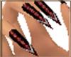 Rose Fya nails