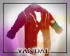 V- Shirt and Denim Vest