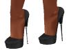 Baby Black Heels