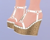D! Summer Sandals White