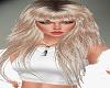 Thick Bangs Blond Hair