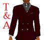 T&A Jacket/Dragon Tie