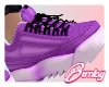 Running Sneakers Purple